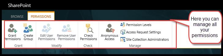 Manage Permissions 4